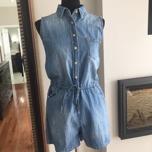 Universal Thread denim romper